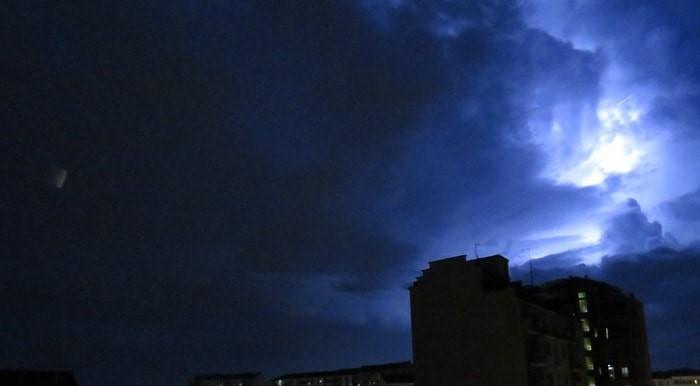 tempesta di fulmini agosto 2017